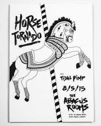 Horse Tornado Print
