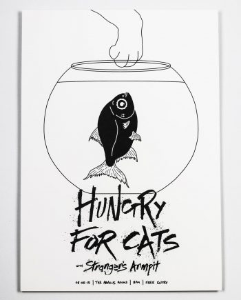 Hungry For Cats Print
