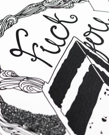 Rage Cake Print