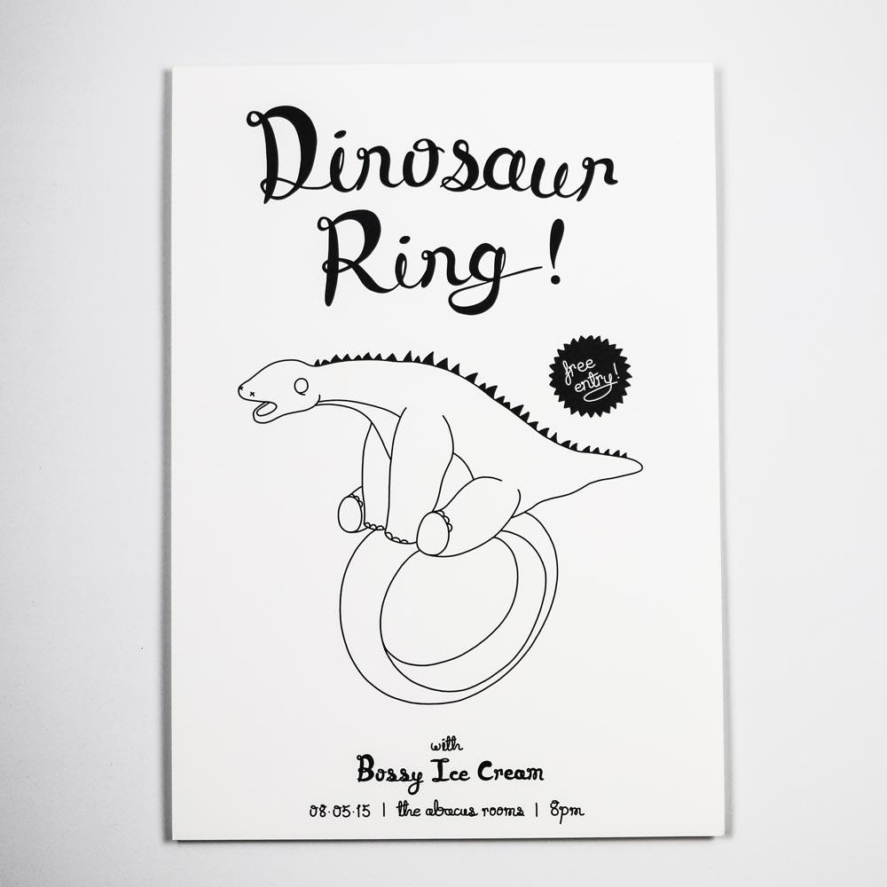 Dinosaur Ring Print