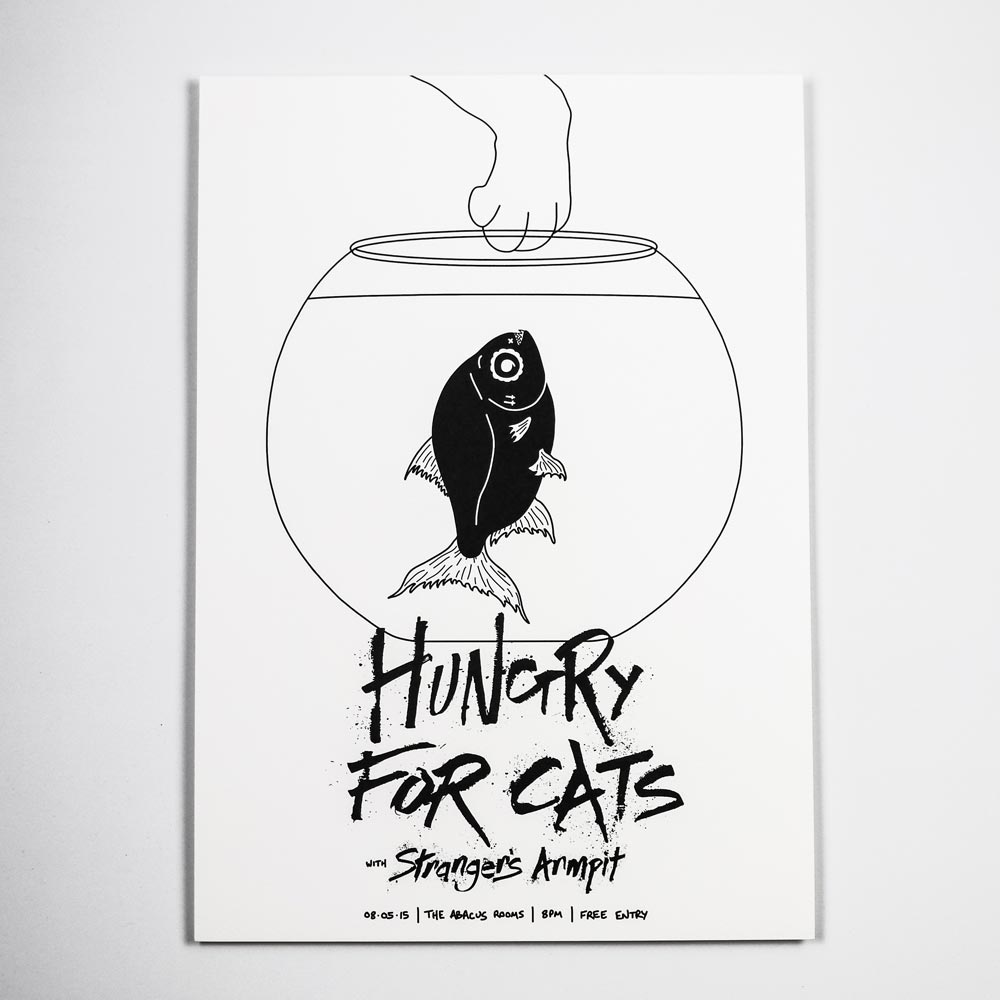 Hungry For Fish Print
