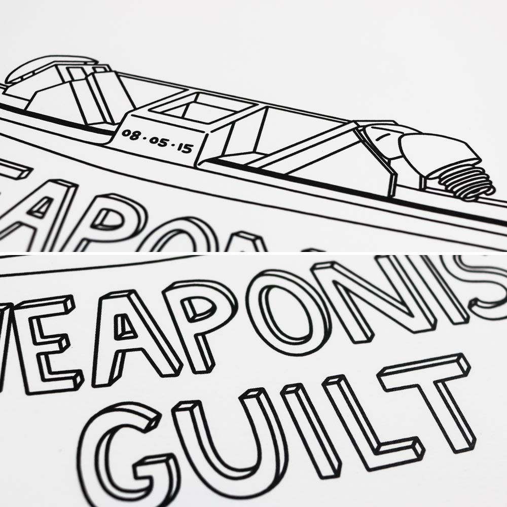 Weaponised Guilt Print