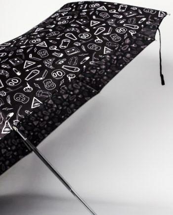 Dark Curiosities Umbrella