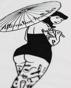 Parasol Pin-Up T-shirt